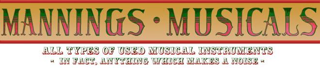Manning's Musicals