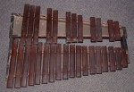 ANTIQUE MARIMBA or XYLOPHONE.