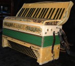 RANCO 1930's 120 BASS PIANO ACCORDION.