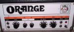 VINTAGE ORANGE OR120 VALVE GUITAR AMP.