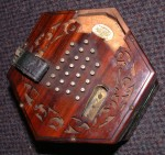 ROCK CHIDLEY ENGLISH CONCERTINA C.1880.