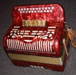 HOHNER AMATONA IV MELODEON ACCORDION. B/C. EXCELLENT.