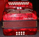 PAOLO SOPRANI C#/D 1950's MELODEON - BUTTON ACCORDION.