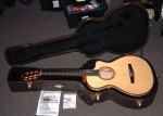 TAYLOR NS62-CE CLASSICAL GUITAR WITH CASE.