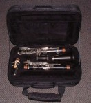 VINTAGE BOOSEY & HAWKES WOODEN REGENT Bb CLARINET.