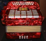 HOHNER GAELIC IV BUTTON ACCORDION - MELODEON in B/C.