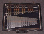 VERY OLD GLOCKENSPIEL. LOVELY TONE, CONCERT PITCH.