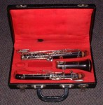 LAFLEUR - (BOOSEY & HAWKES) WOODEN OBOE with CASE.