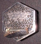 LACHENAL Bb/F 40 KEY ANGLO CONCERTINA. METAL ENDS.