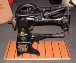 SINGER 29K, BOOT PATCHER, LEATHER/CANVAS SEWING MACHINE.