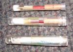 3 x PRESTINI MEDIUM OBOE REEDS. NEW OLD STOCK. £18.