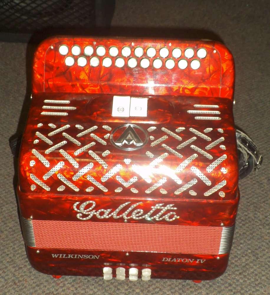 Galletto Wilkinson Diaton Iv B C Button Accordion