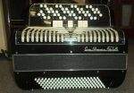 5 ROW CHROMATIC ACCORDION. COOP L'ARMONICA, ITALY.