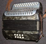 PAOLO SOPRANI B/C MELODEON. THE GREY ONE! LATE 1940's.