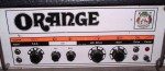 VINTAGE ORANGE OR120 VALVE GUITAR AMP.