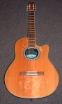 OVATION CLASSICAL GUITAR, electro/acoustic.