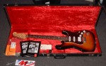 FENDER STRATOCASTER, HSS, WITH CASE.