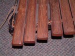 VINTAGE G.P.M. XYLOPHONE. ROSEWOOD BARS, with CASE.