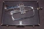 VINTAGE BLESSING USA XL FLUGELHORN with CASE. flugel cornet trumpet