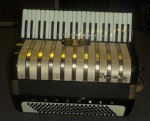 HOHNER 'MARCHESA' PIANO ACCORDION with CASE.